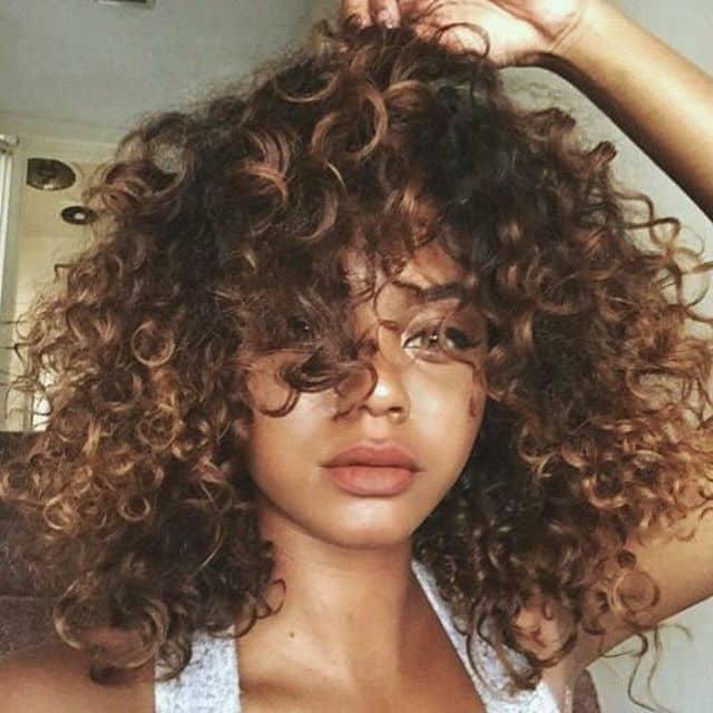 40 Crazy Curly Hair Colors For Confident Women Hairstylecamp