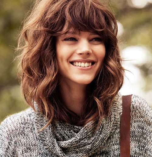 Top 10 Long Curly Hairstyles To Enjoy With Bangs