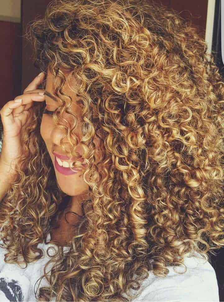 Attractive Curly With Perms For Long Hairstyle