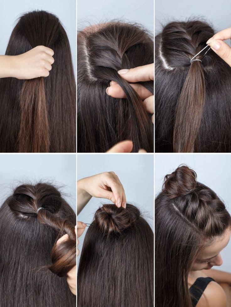 50 Ravishing Braided Bun Hairstyles 2021 Trends