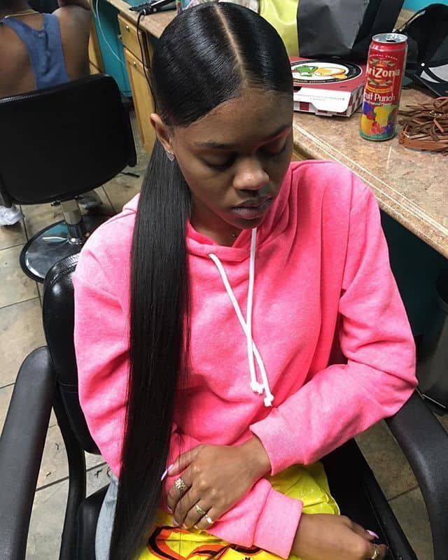 20 Glamorous Weave Ponytails That Are Trendy 2019