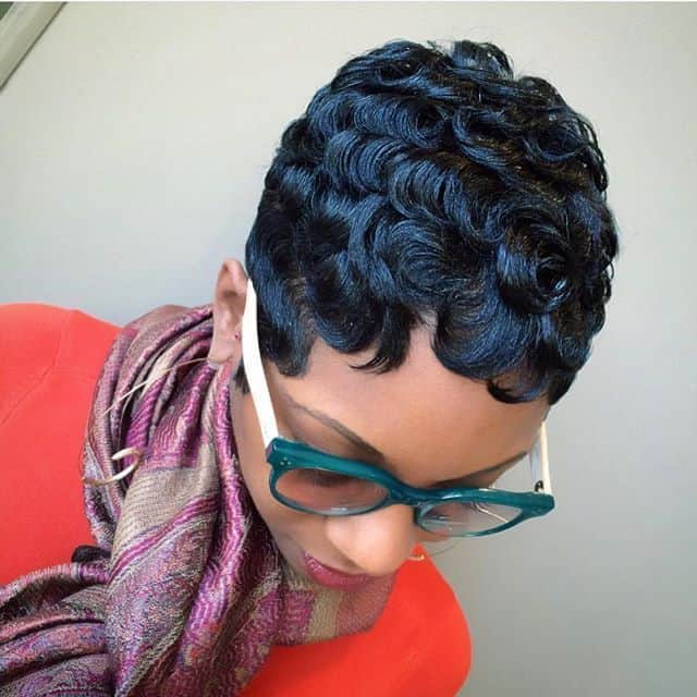 The Curls Range Anywhere From Wavy To Coils Which Makes A Lot Of Hairstyles For Straight Ish Hair Not Licable Black Woman