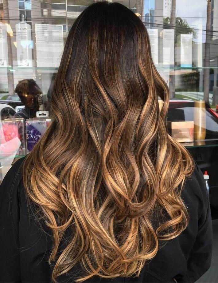 10 Colorful Brown Balayage Looks There S Nothing