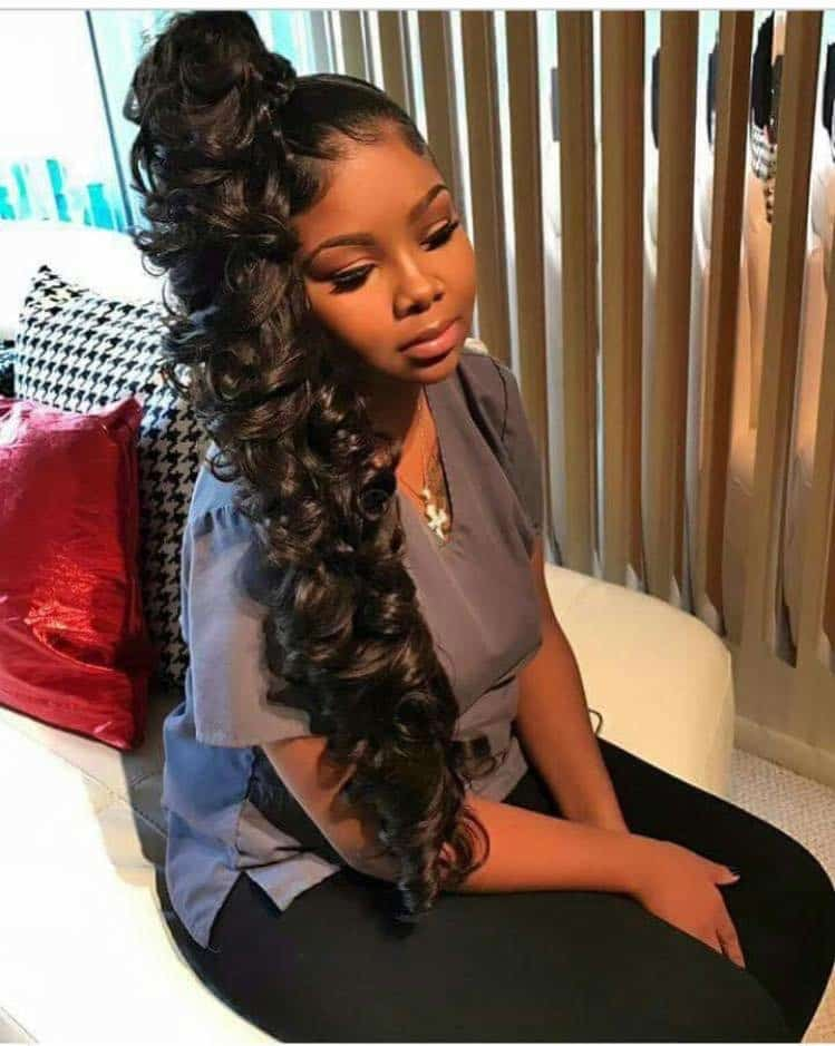 With-It Weave Ponytails You Have to See to Believe