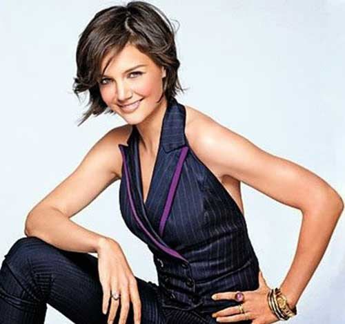 5 terrific katie holmes short hairstyles latest celeb trend katie holmes business hairstyle winobraniefo Image collections