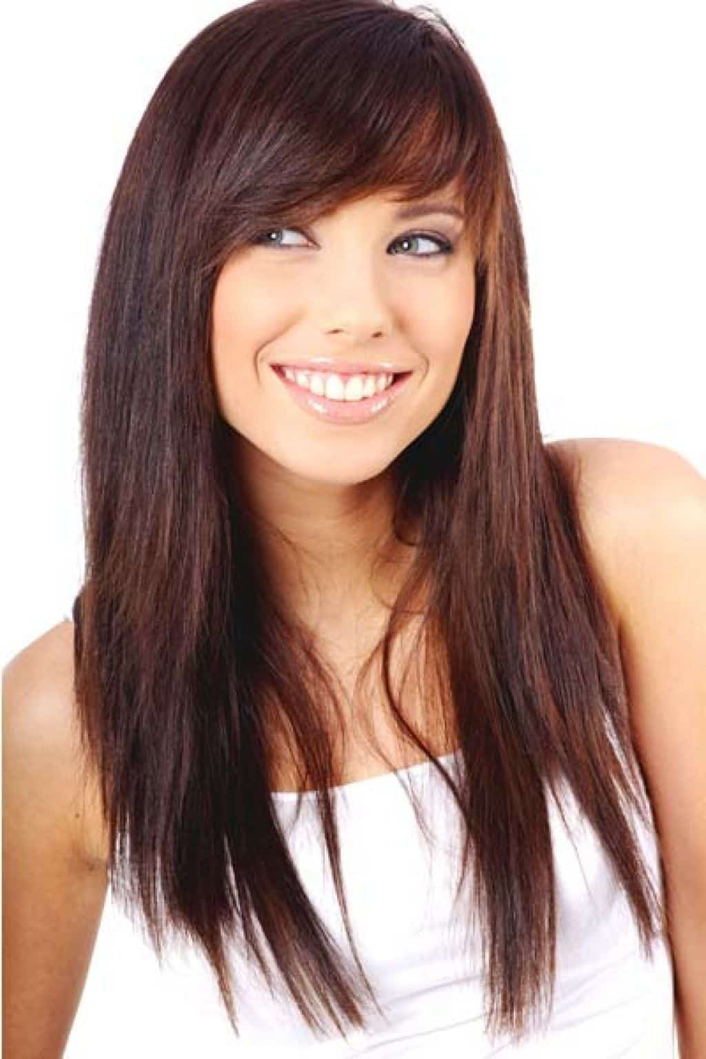 10 Alluring Side Bangs On Long Hair 2018 Hairstylecamp