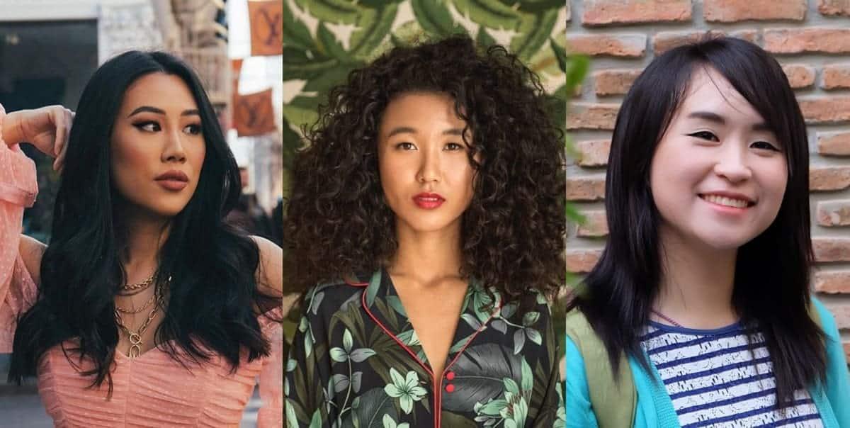 Asian women hairstyle