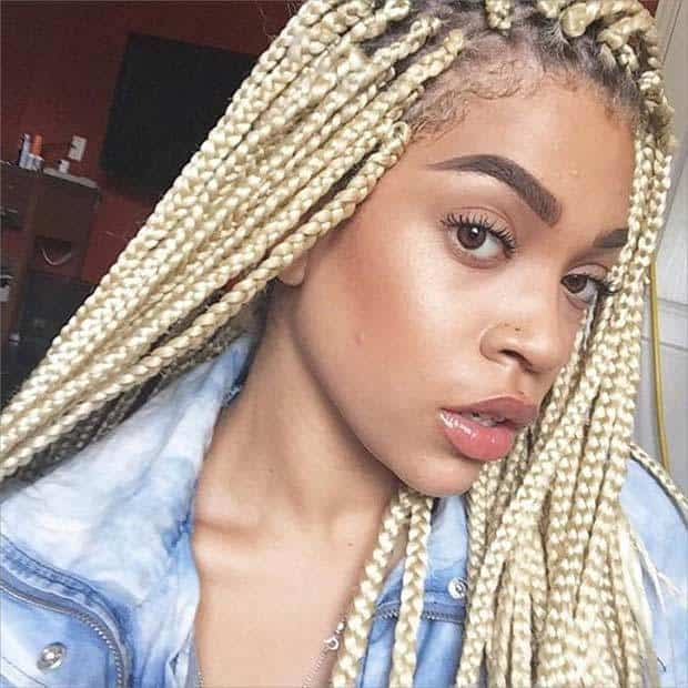 Awe Inspiring 30 Ravishing Poetic Justice Braids Styles For 2017 Hairstylecamp Short Hairstyles Gunalazisus