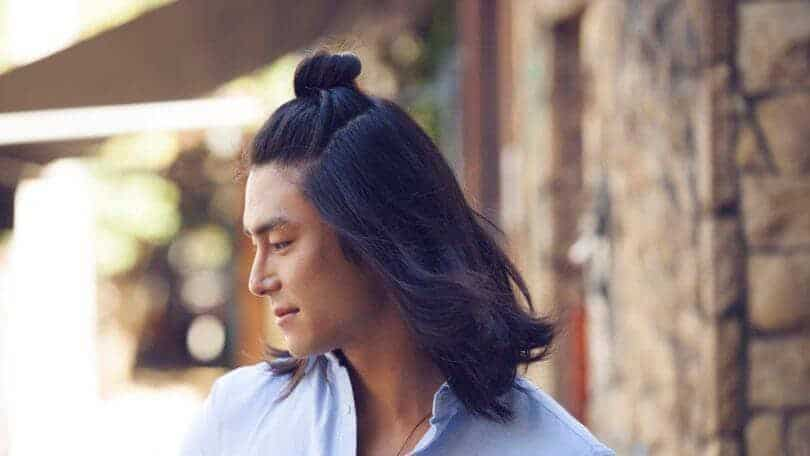 Asian males with long hair