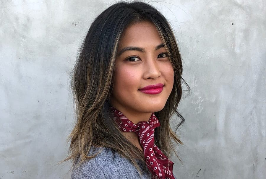 11 Fetching Hair Highlighting Ideas For Asian Women