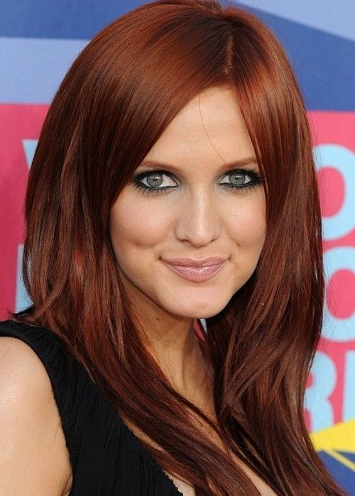Medium Auburn Red Hair For Women