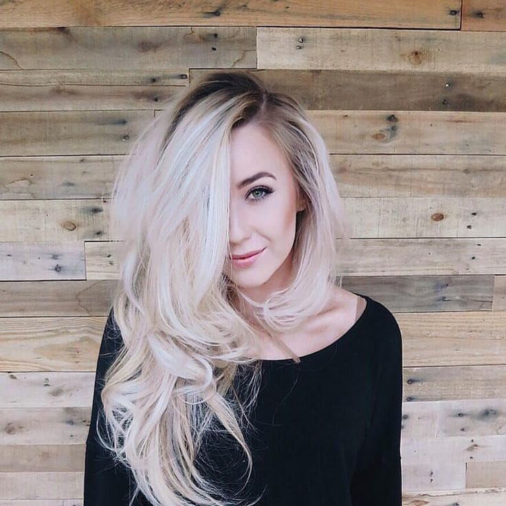 Brightest Blonde Balayage hairstyle you love