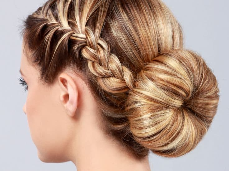 7 Stunning French Braided Buns For Women