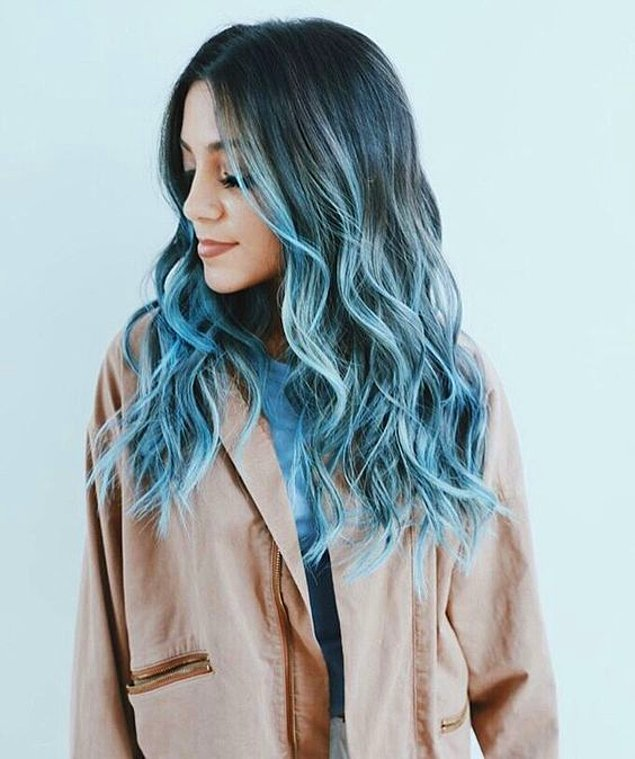 20 Brilliant Blue Ombre Hair For Brave Chicks Hairstylecamp