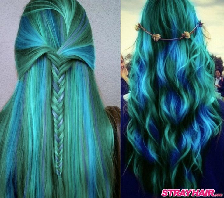 12 modern blue and green hair colors we love blue with green hair color 8 pmusecretfo Image collections