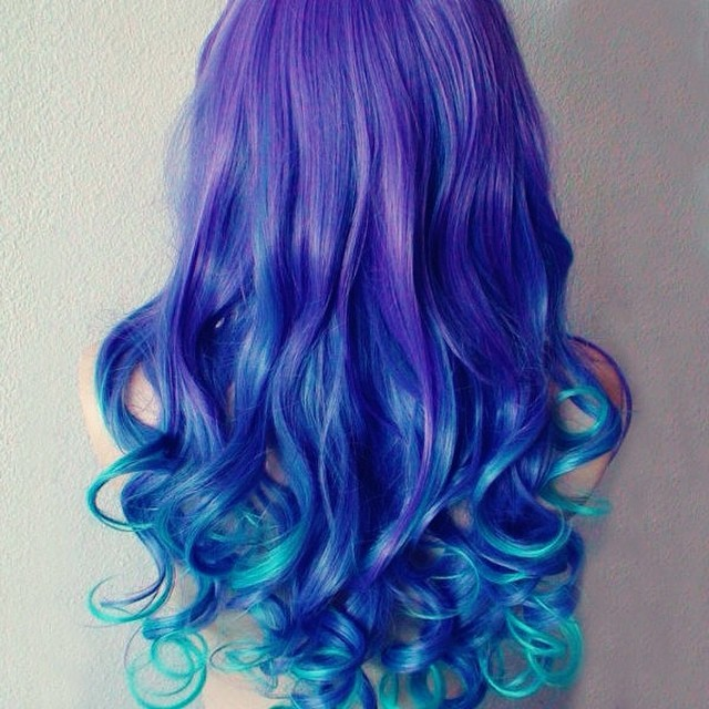 10 beautiful blue and purple hair color ideas hairstylecamp blue and purple hair color ideas 6 pmusecretfo Gallery