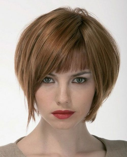 Bobs with Bangs hair for girl