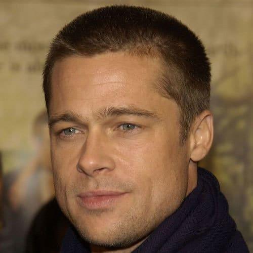 Brad Pitts Buzz Cut