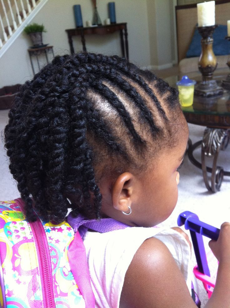 45 fun funky braided hairstyles for kids hairstylecamp cute little girl braided hairstyles urmus Images