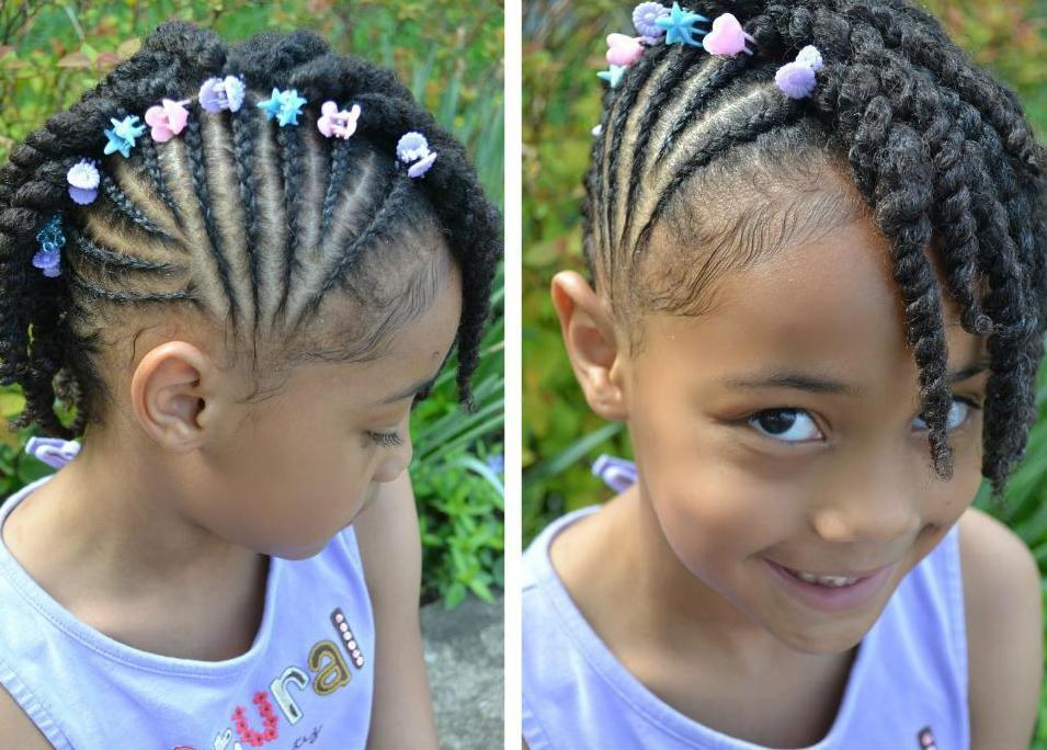 Braided Hair Styles For Little Girls: 40 Fun & Funky Braided Hairstyles For Kids