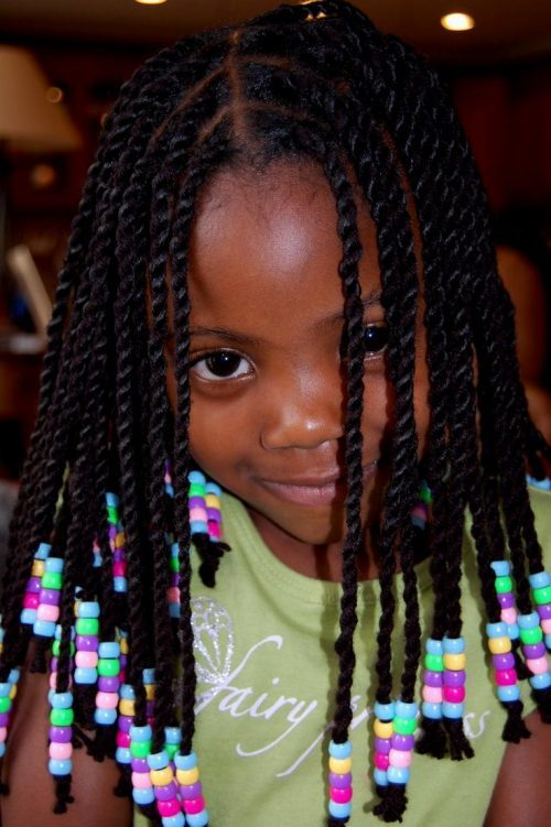 black hairstyles braids for black kids