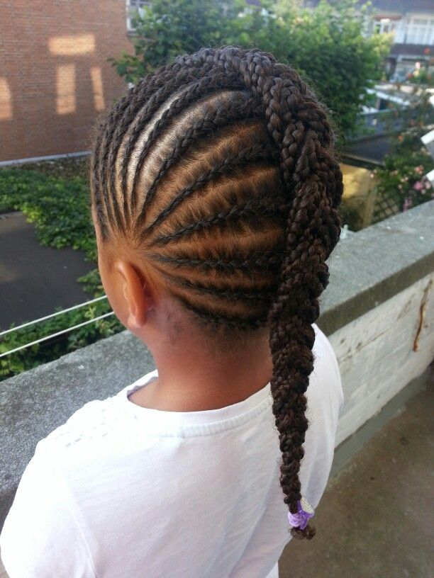 Chunky Central african hair braiding