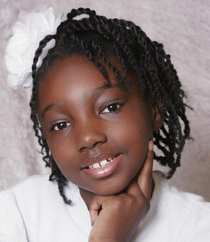 black girl cool braids for short hair
