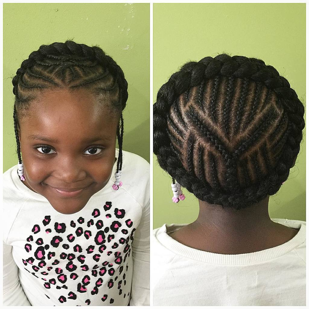 cute Braided Crown hairstyle your favorite