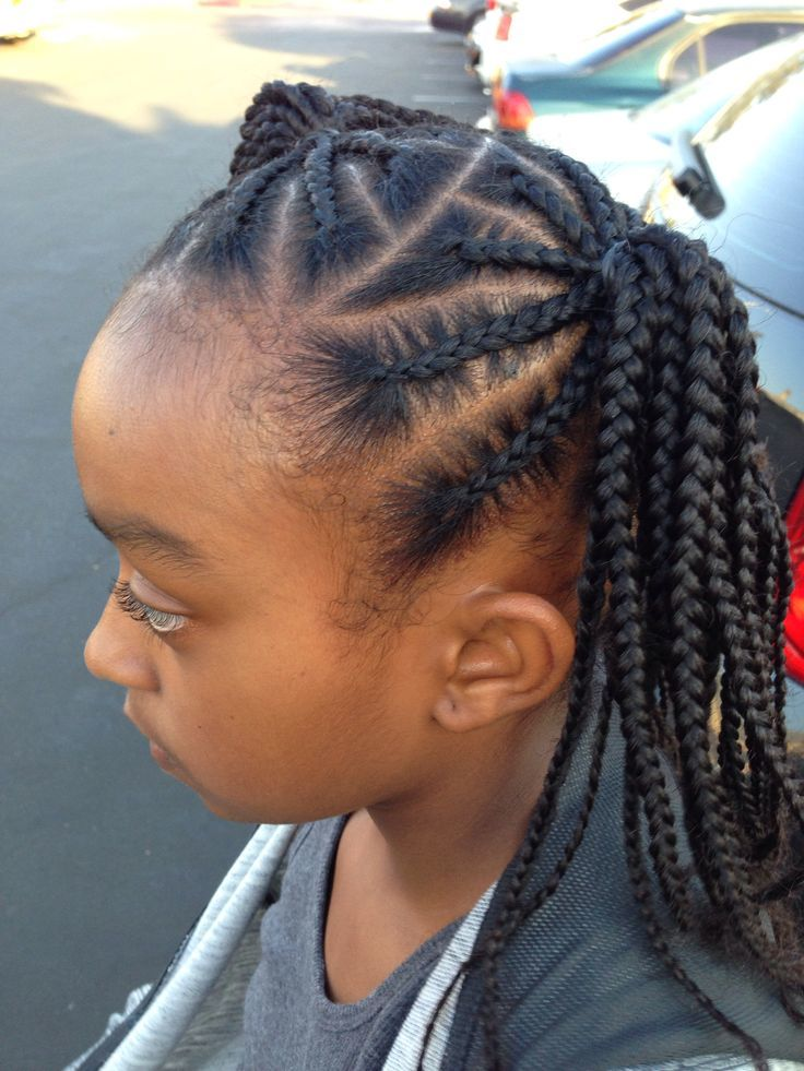 Braided Pigtails hairstyle