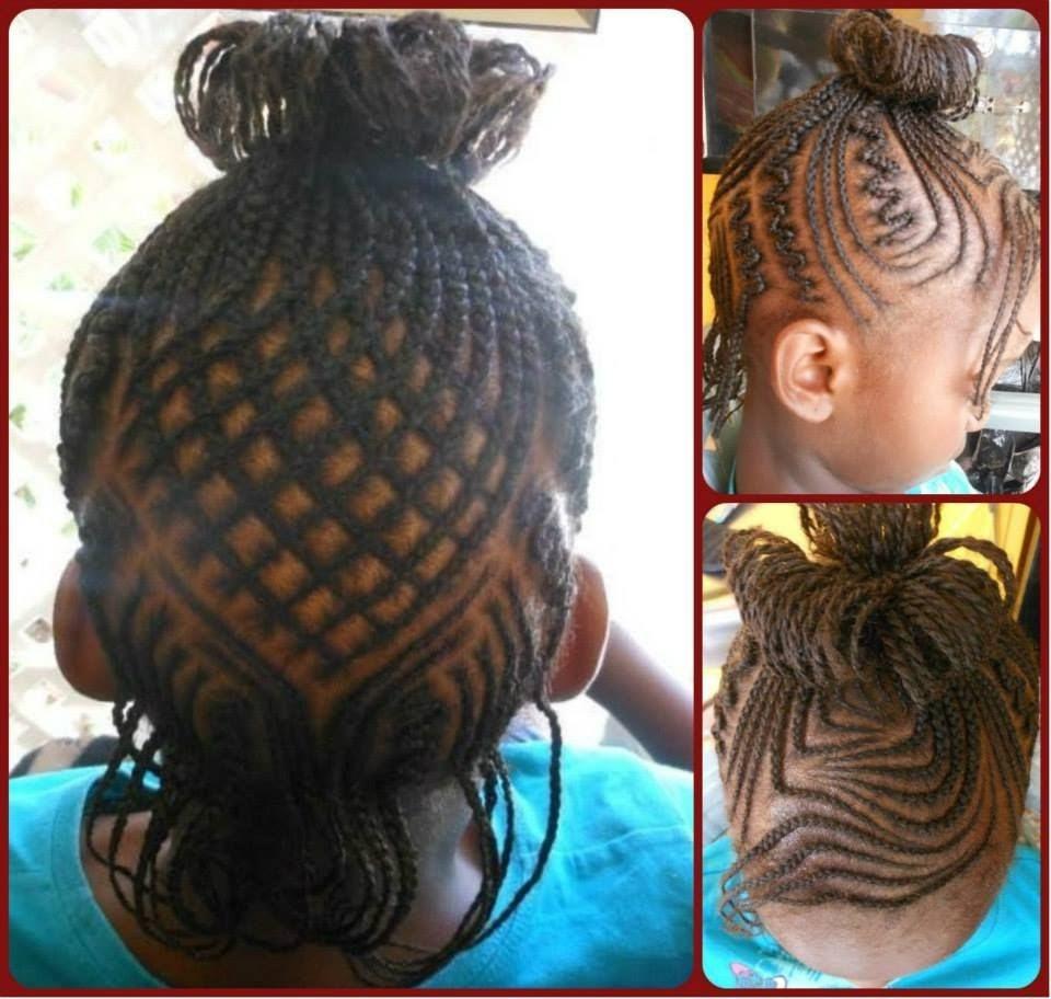 Cornrow Art hair braiding styles