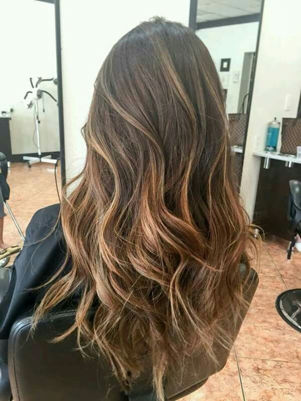 Black and Brown Balayage Haircut you love