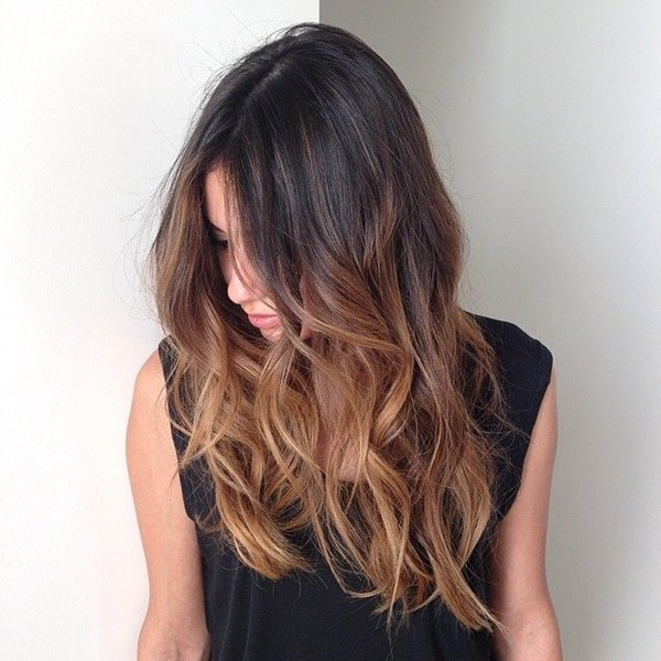 nice Brown Balayage Hairstyle for girl