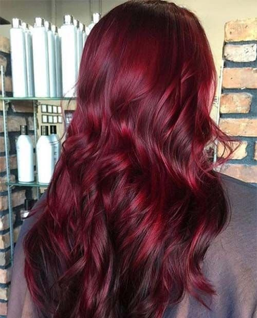 Cherry Red Hair Color