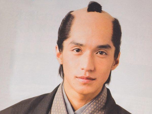 Chonmage Samurai Style
