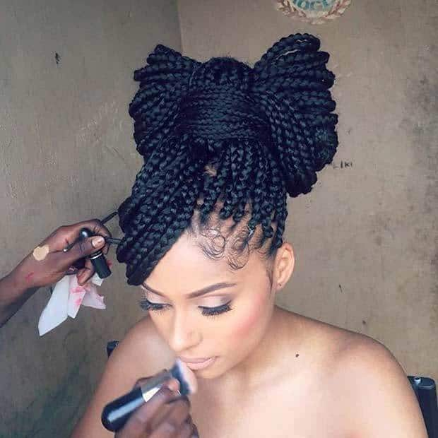Poetic Justice Braids hairstyle for girl