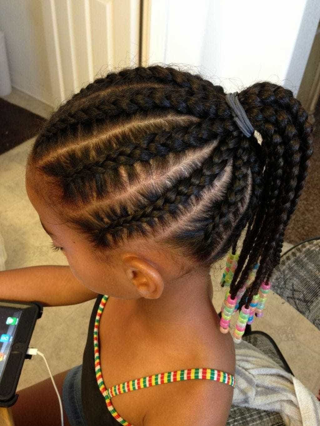 Your Pikin Back To School Hair Styles For Girls Dem