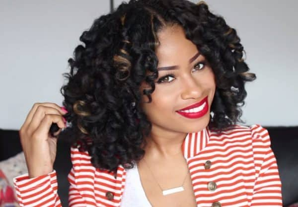 Curly Crochet Braids with Marley Hair