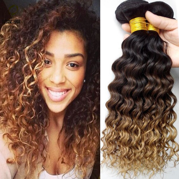 Weave Dark and curly ombre hairstyle you love