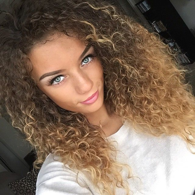 12 stunningly wild dark and curly ombre hair colors dark and curly ombre hair 9 urmus Images