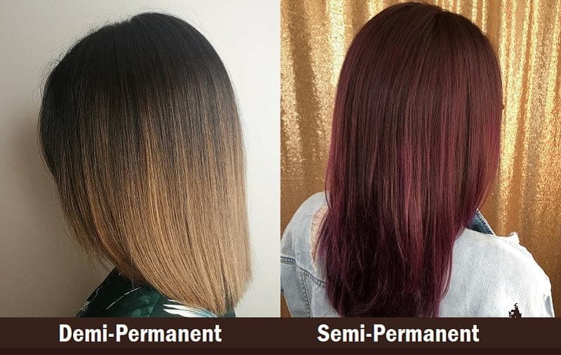 Demi Vs Semi Permanent Hair Color Know The Differences