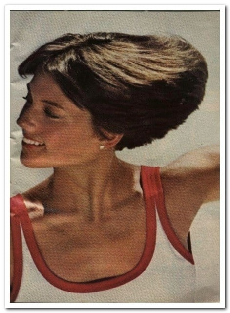 Dorothy Hamill Classic Wedge Cut hairstyle