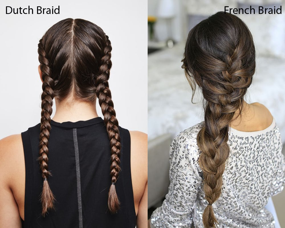 Dutch Braid Vs French Braid What Are The Differences