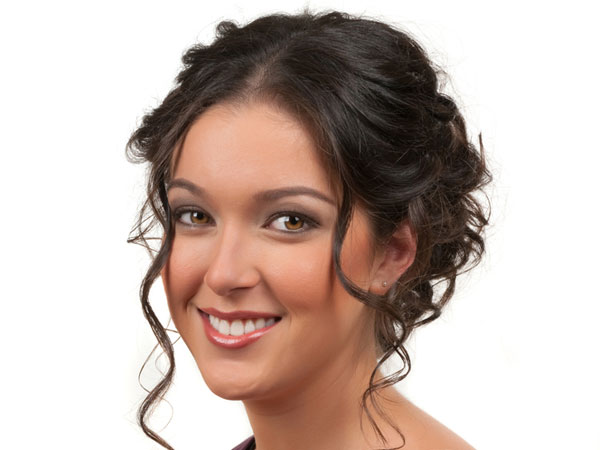 women updos for medium hairstyle