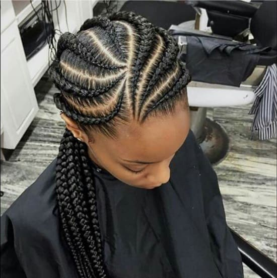 55 Hottest Feed In Braids Cornrow Styles To Obsess Over 2019
