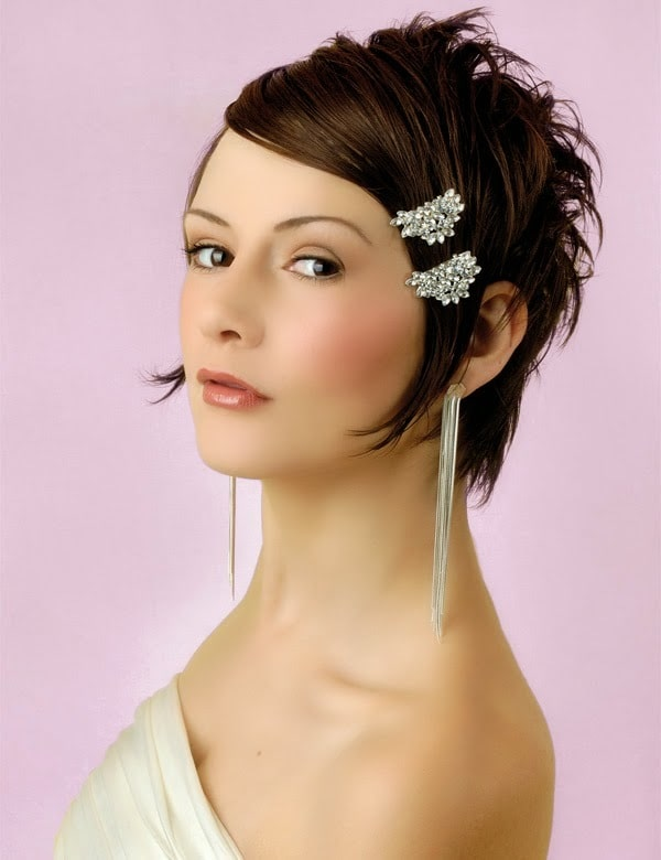 Formal Short Bob Hairstyle For