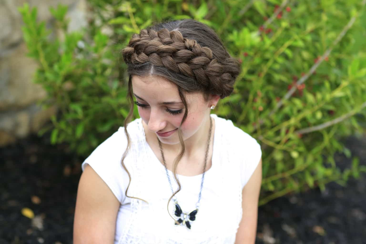 21 Cute And Trendy Hairstyles For Black Teenage Girls: 7 Stunning French Braided Buns For Women
