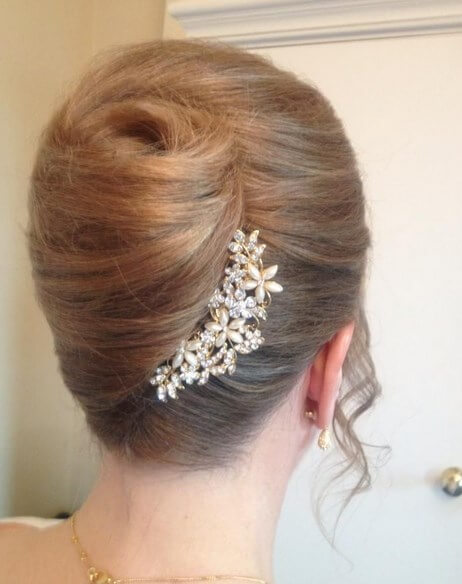 French twist wedding hairdos cut