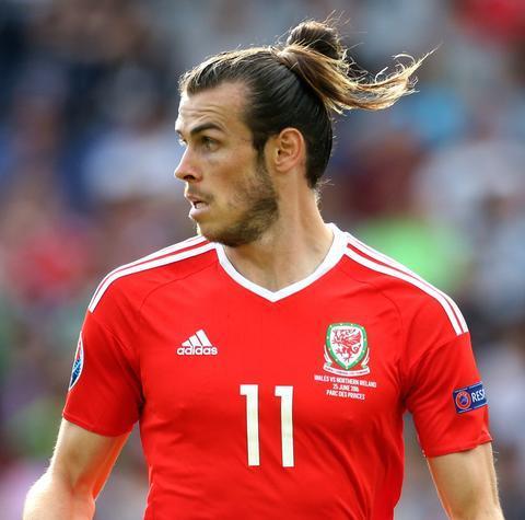 Gareth Bale's Man Bun hairstyle you like