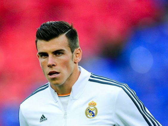 Gareth Bale Combover Hairstyle
