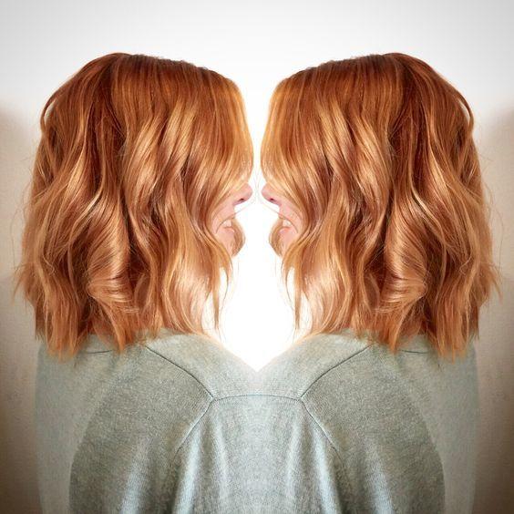 Light ginger hair color